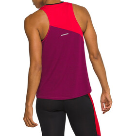 asics Tokyo Tank Women, classic red/dried berry